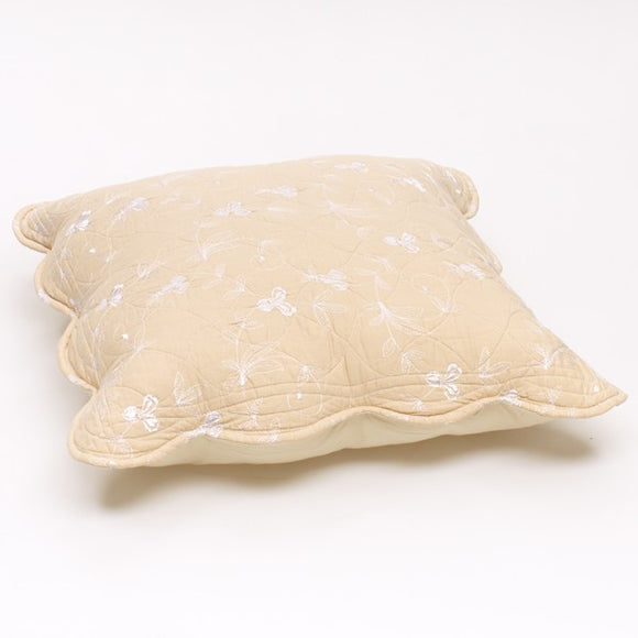 Sibelle Scatter Cushion - White and Ecru