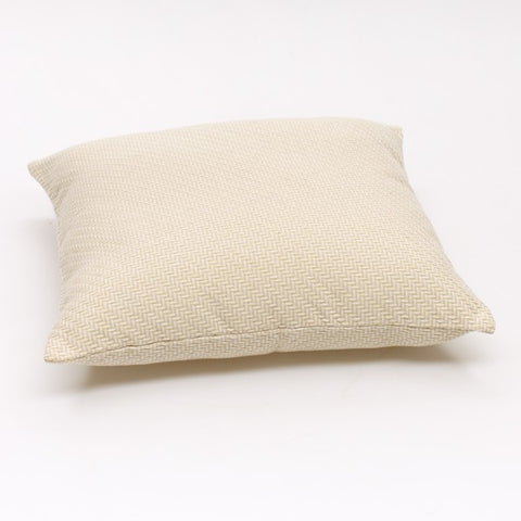 Bision Cushion - Cream and White