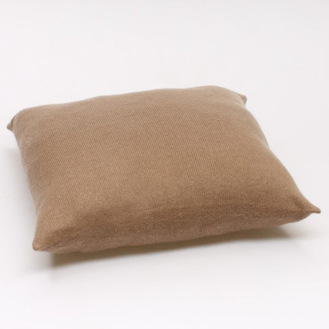 Cashmere Cushion: Taupe