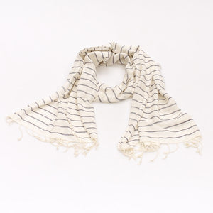 Sea Stripe Scarf