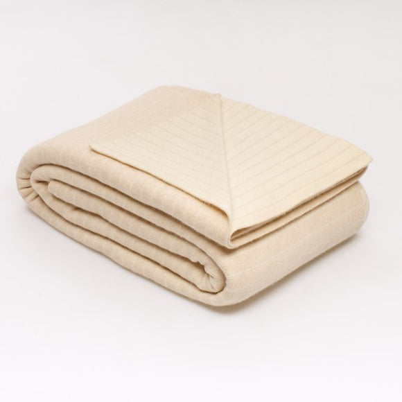 Loril Cashmere Blanket Champagne