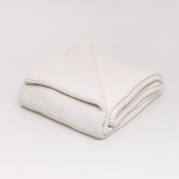 Classic Chunky Knit Throw