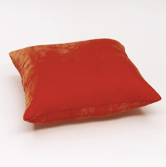 Glis Cushion Cover - Terracotta