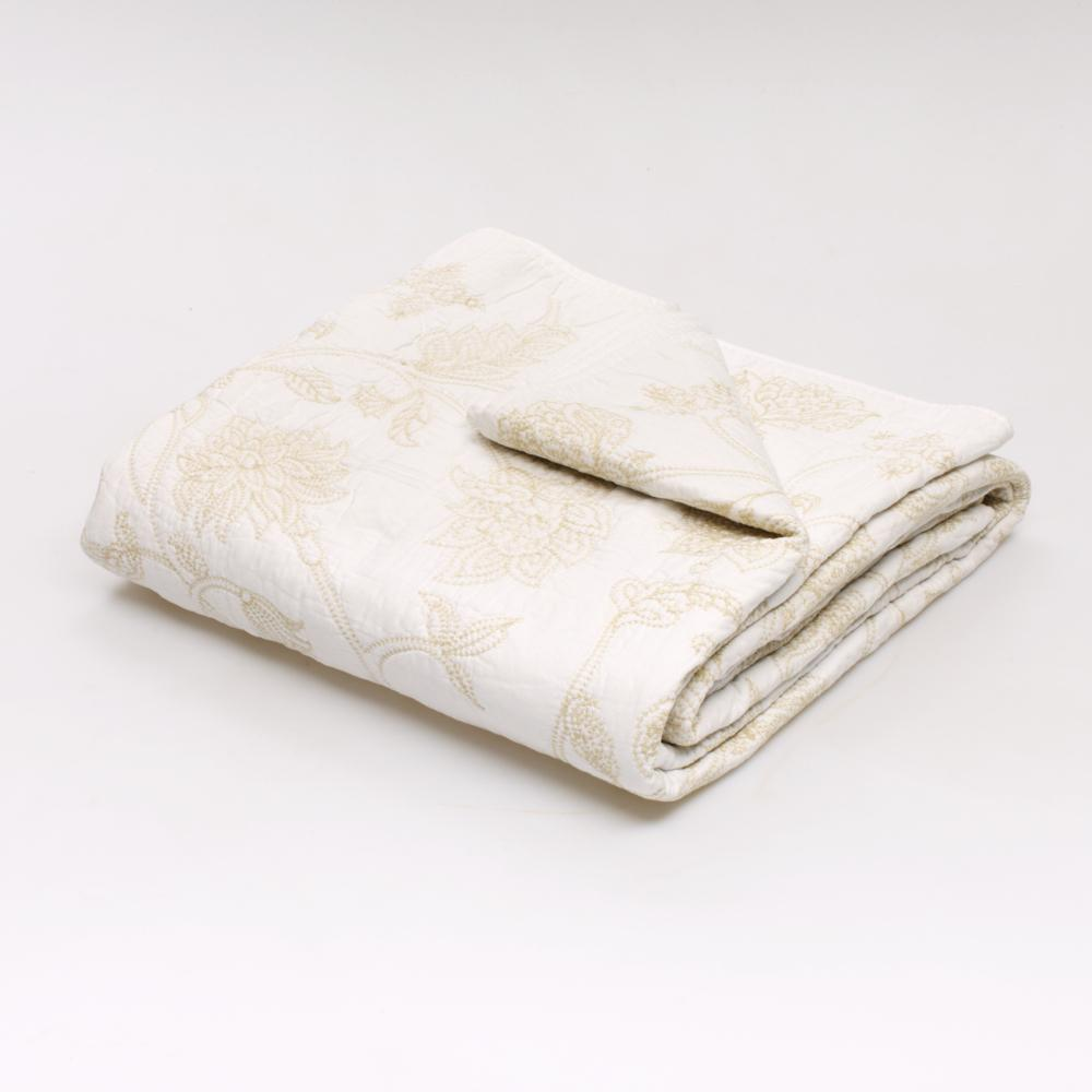 Jole' Home May Coverlet in White