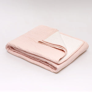 Piquey Coverlet: Pink