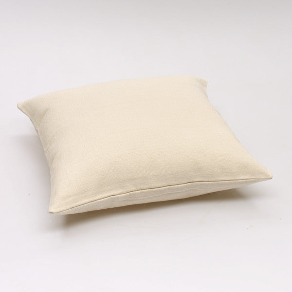 Jole' Home Solid cotton cushion in cream