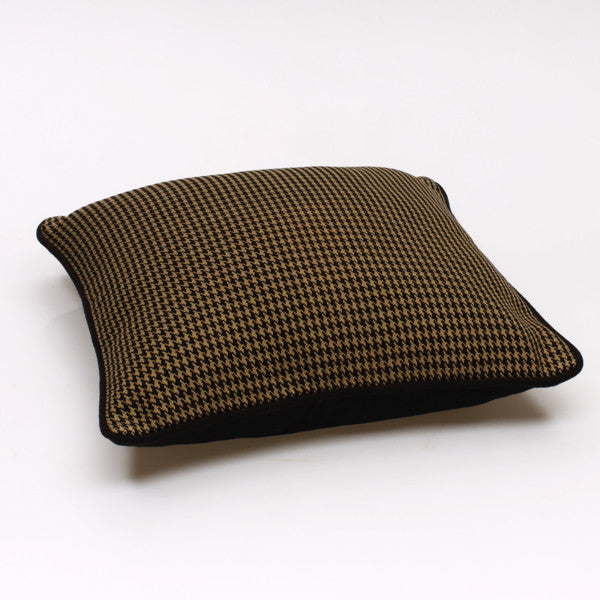 Sway Cushion Cover - Taupe & Black