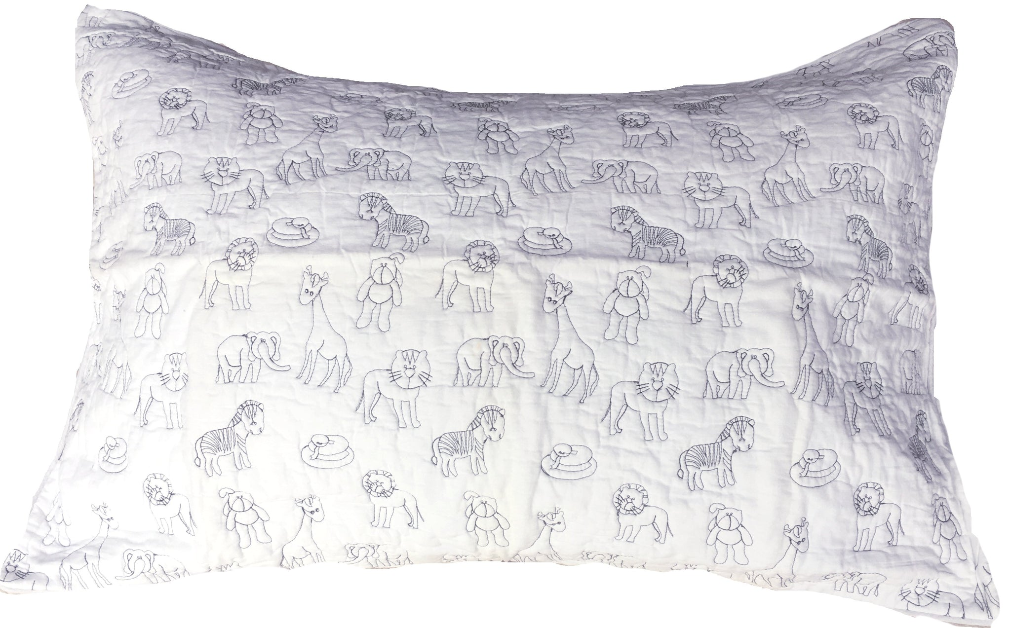 Jole' Home Zoo Pillow case