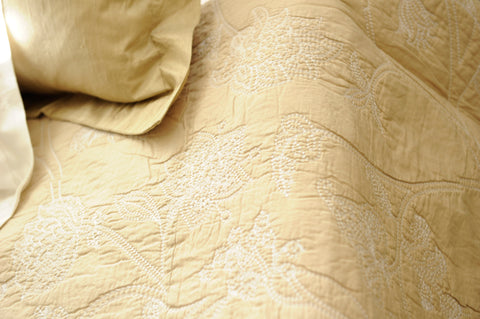 Winter Offer: May Coverlet and scatter Set: Taupe