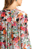 Womens Floral Blouse - 2