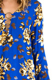 Womens Floral Blouse - 3