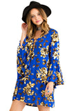 Womens Floral Blouse - 4