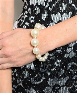 Pearl Stretch Bracelet - dirty south provisions