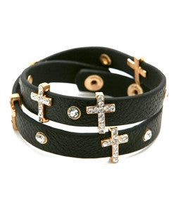 Cross Wrap Bracelet - dirty south provisions