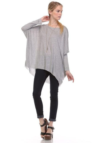 Long Sleeve Super Soft Knit Top by Mono B