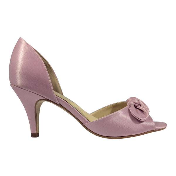 Clarice - Beatrice - Soft Pink Satin - Sole Sister Shoes