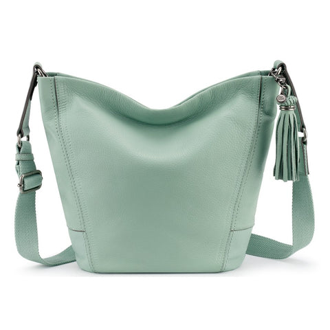 The Sak Kern Leather Crossbody Mint - WHAT'S NEW