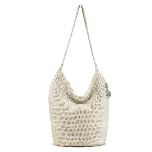 Sakroots Palm Springs 120 Shoulder Bag Bamboo Natural Metallic