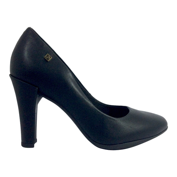 Piccadilly - 695001 - Black Court Shoe
