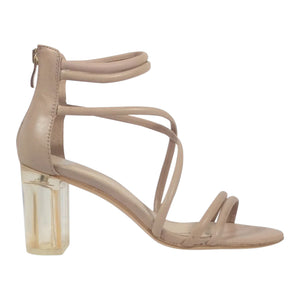 Mollini - Pershing - Blush Leather Shoe - Sole Sister Shoes