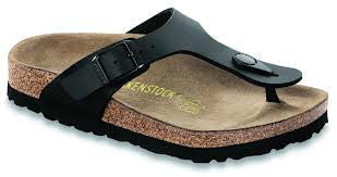 Birkenstock - Gizeh - Black -  Birko-flor - Narrow Fit - Sole Sister Shoes
