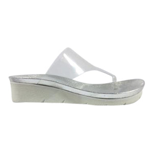 Top End - Laconary - Clear Vinylite Sandal