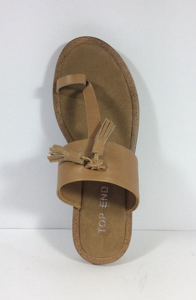 Top End - Festus - Leather Flat - Tan