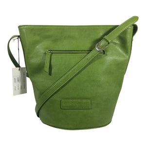 Cosgrove And Beasley - Summer Shoulder Bag - Grass Green - Sole Sister Shoes