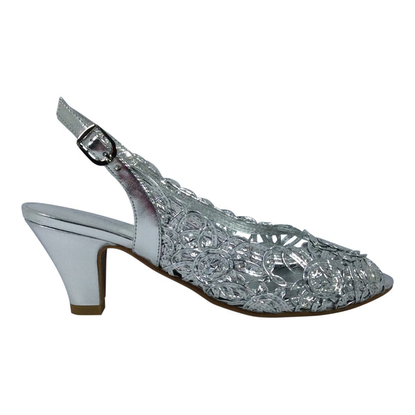 Gamins - Mendia - Silver Heels - Sole Sister Shoes