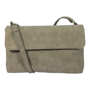 Cosgrove and Beasley - Two Bags In One - Florence - Taupe - Sole Sister Shoes