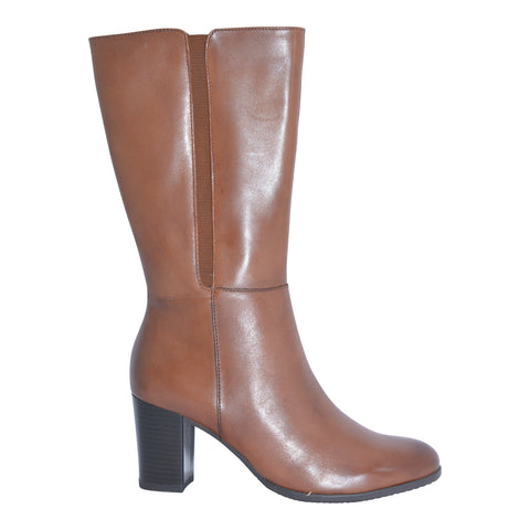 Gino Ventori - Waitlisted - Cognac - Mid Calf Boot - Sole Sister Shoes