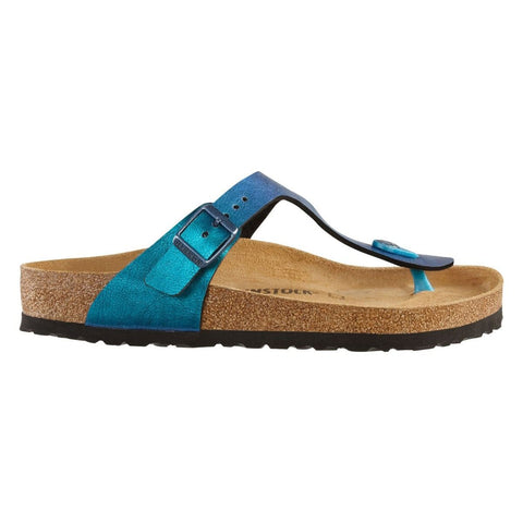 Birkenstock - Gizeh BS Graceful Gemm Blue Sandal - Sole Sister Shoes