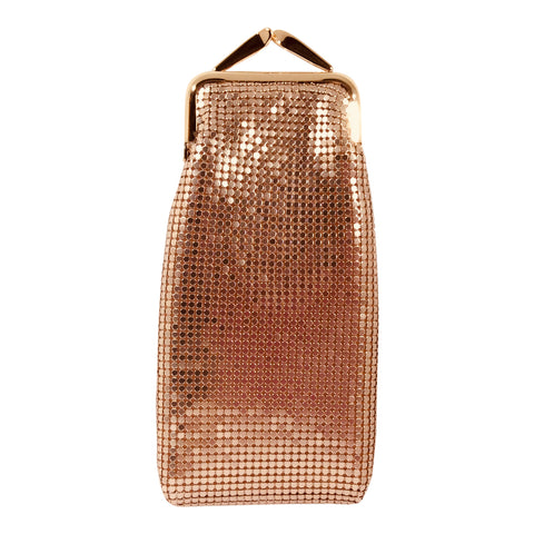 Mesh Glasses Case - Rose Gold