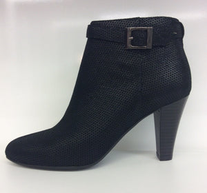 Chrissie - Sage - Fine Print Black - Ankle Boot - Sole Sister Shoes