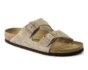 Birkenstock - Arizona - Taupe - Sole Sister Shoes