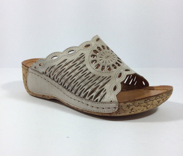 Cabello Comfort Shoes - Molly - Taupe - Sole Sister Shoes