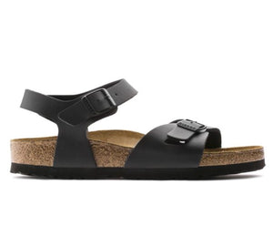 Birkenstock - Rio - Black - Sole Sister Shoes