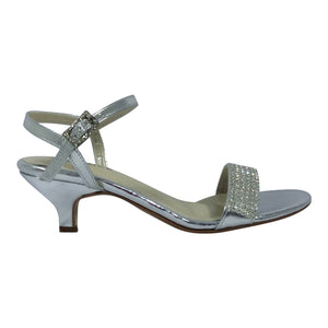Clarice - Judy Heels - Black or Silver - Sole Sister Shoes
