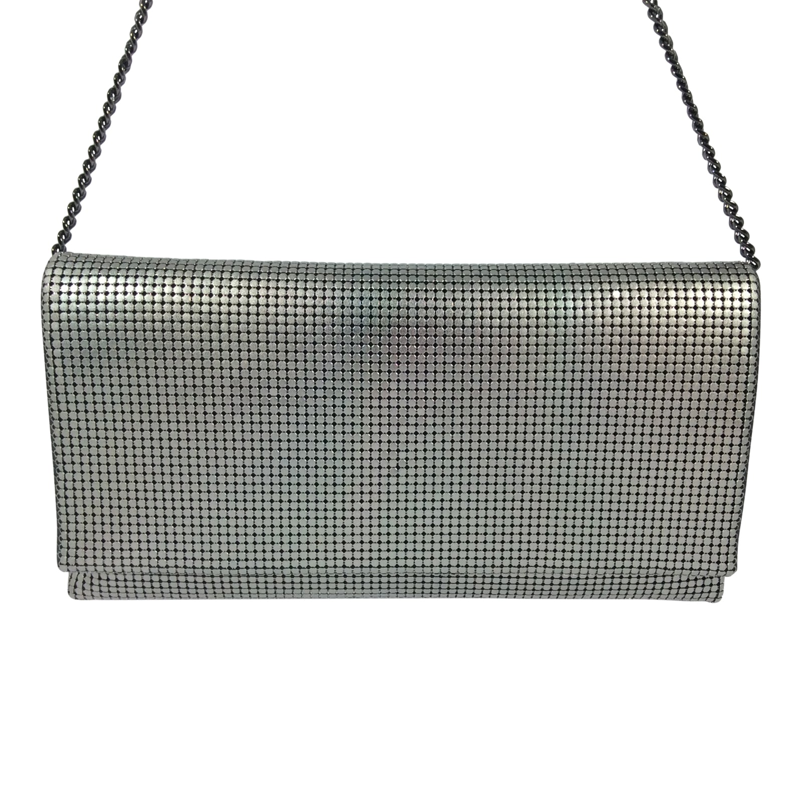 Cosgrove & Beasley Clutch - Magnet - Grey Mesh - Sole Sister Shoes