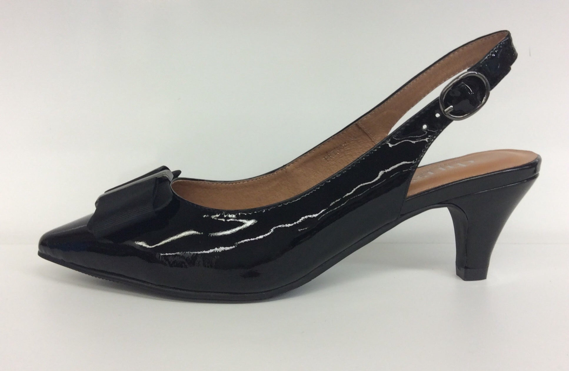 Chrissie - Prince - Black Patent - Sole Sister Shoes