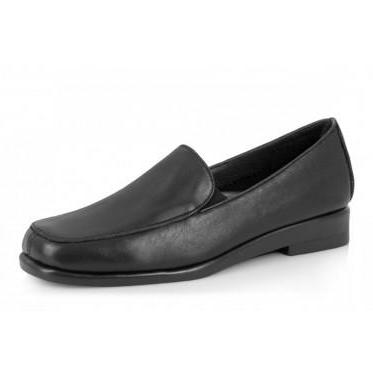 Aerobics Leather Shoe - Hello - Black