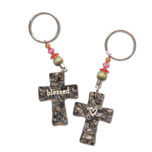 Natural Life - Key Ring - Blessed