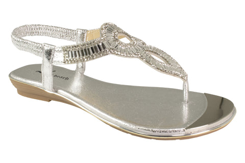 Kirra Beach - Daffodil - Silver - Sole Sister Shoes