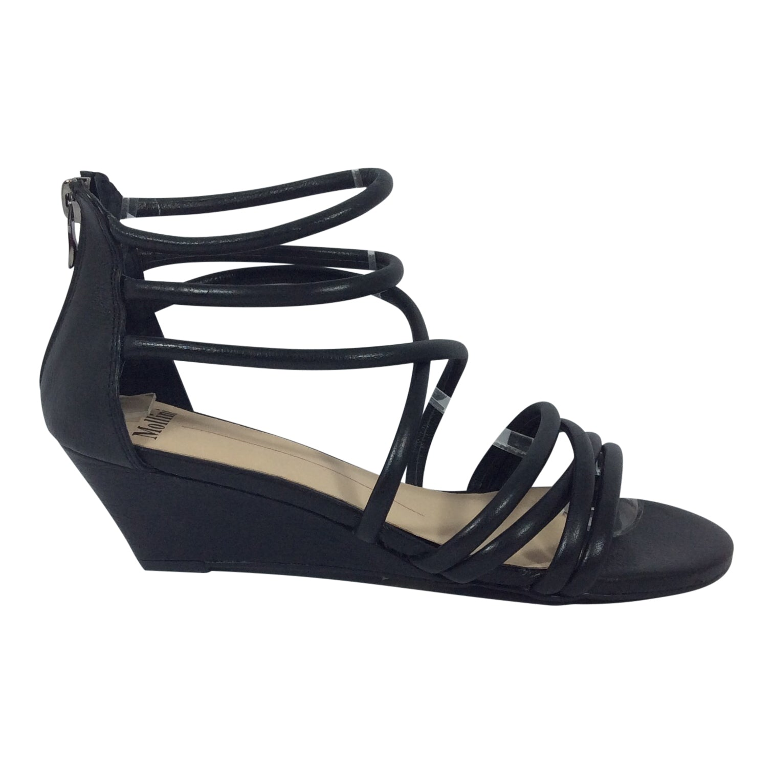 Mollini Shoes - Maeja - Black - Sole Sister Shoes