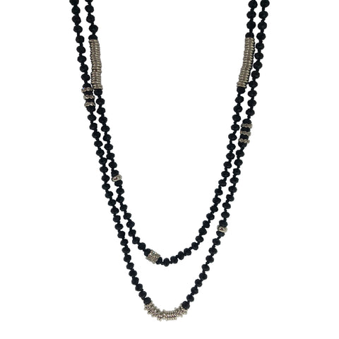 Rita Long Beaded Necklace