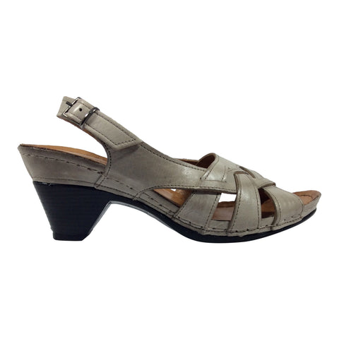 Cabello - Brie - Leather Sandal - Taupe - Sole Sister Shoes