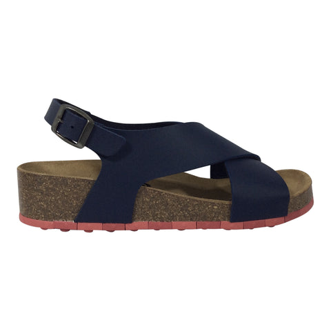 Ccilu - Navy Comfort Sandal-Audrey - Sole Sister Shoes