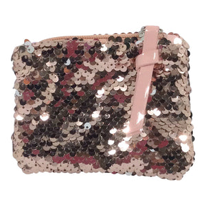 Sequin Purse - Sizzle - Rose Gold