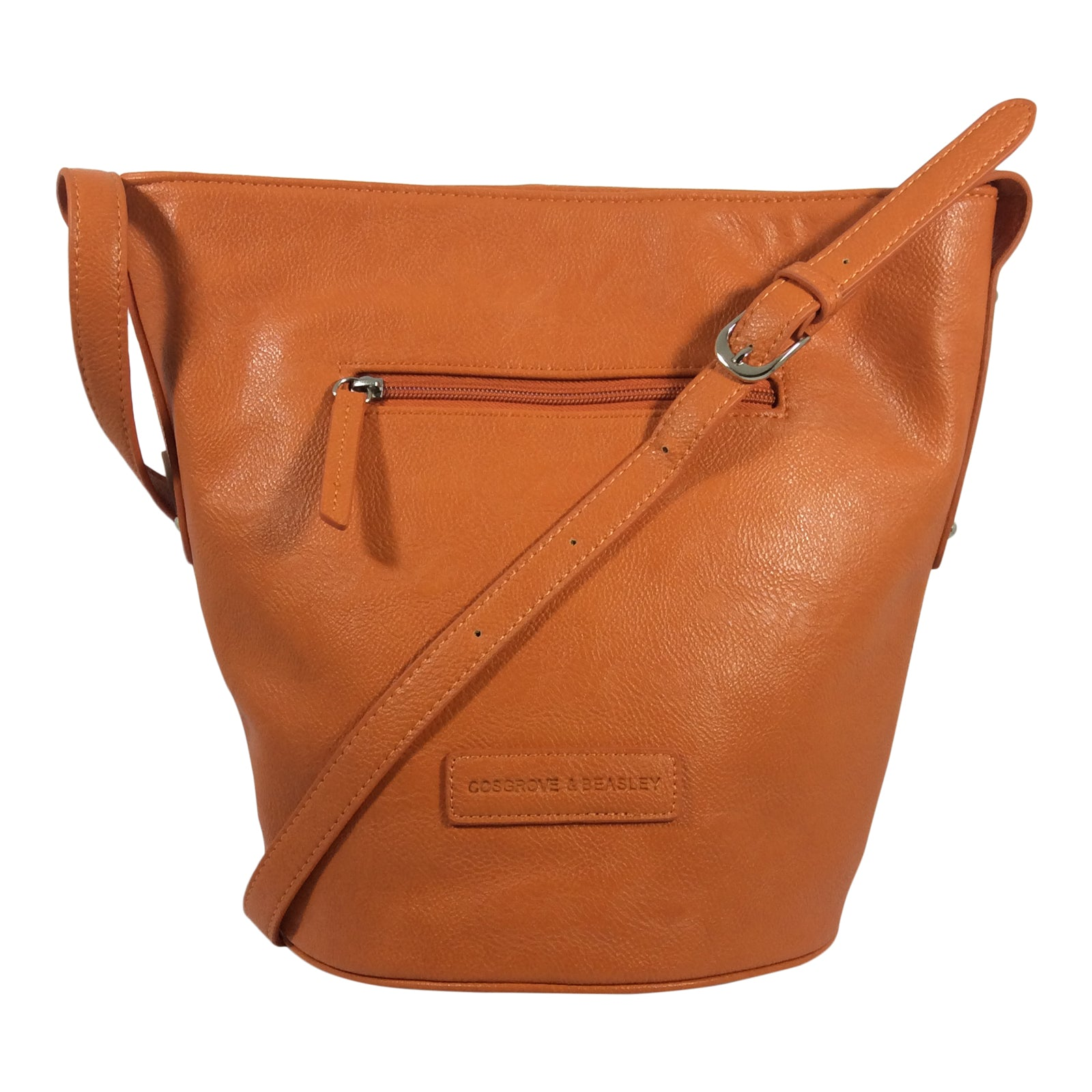 Cosgrove And Beasley - Summer Shoulder Bag - Orange - Sole Sister Shoes