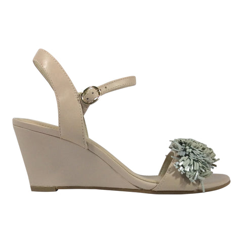 Martini Marco - Messa - Nude Leather Wedge - Sole Sister Shoes